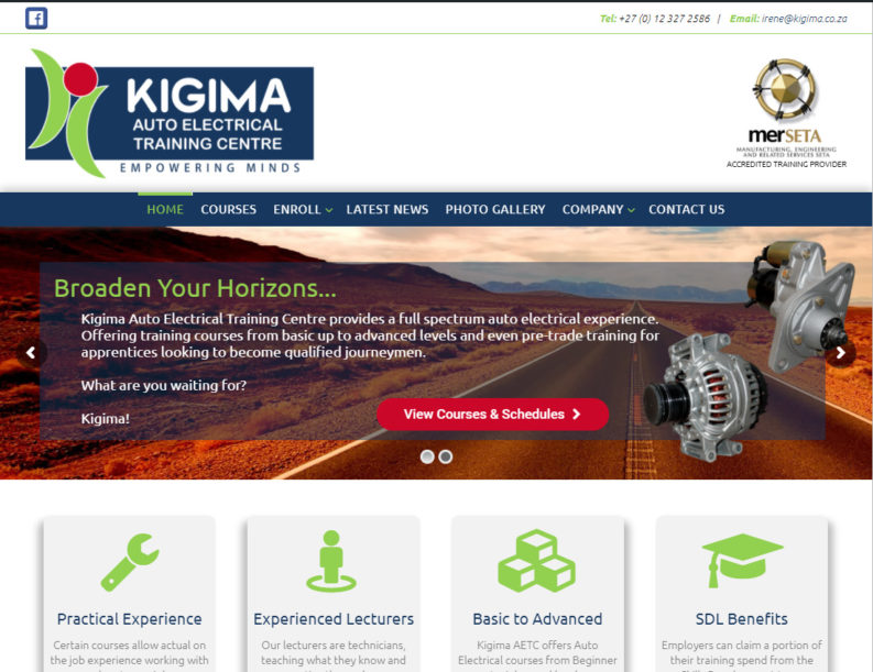 Kigima Auto Electrical Training Center